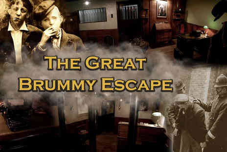 Cannon Raceway - The Great Brummy Escape room for up to eight people - Save 72%