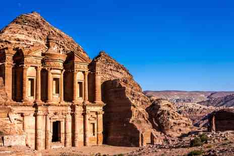 Marvels of Petra & Wadi Rum Tour - Marvels of Petra & Wadi Rum Tour with Optional Dead Sea Extension - Save 20%