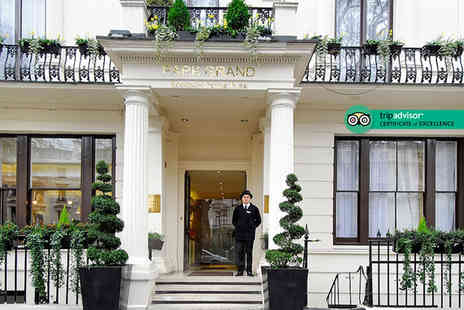 Park Grand Hyde Park - Overnight stay for two people with a full English breakfast - Save 35%
