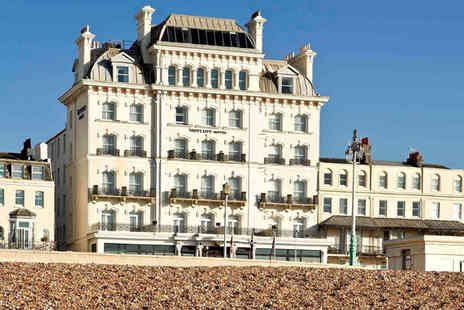 Mercure Brighton Seafront Hotel - Overnight seaside break for two people with breakfast - Save 51%