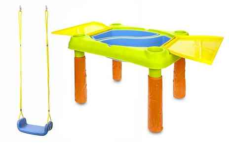 Avant Guarde Brands - Kids outdoor swing and water play table - Save 0%