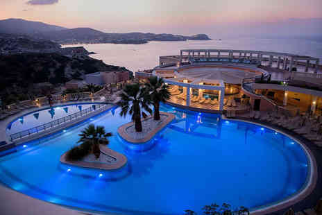 Weekender Breaks - Seven Nights all inclusive Crete holiday with return flights - Save 22%