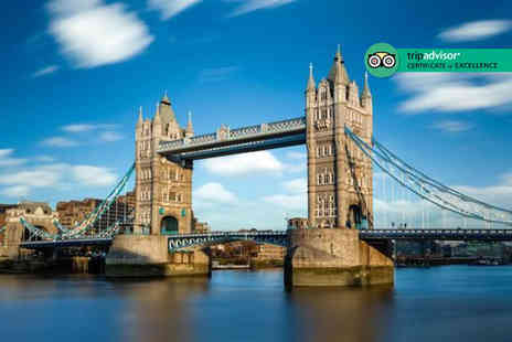 City Cruises - Ticket to a hop on hop off London sightseeing River Red Rover cruise - Save 37%