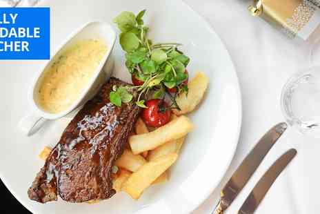 Marco Pierre White Steakhouse Bar & Grill - Three course lunch with cocktails for 2 - Save 43%