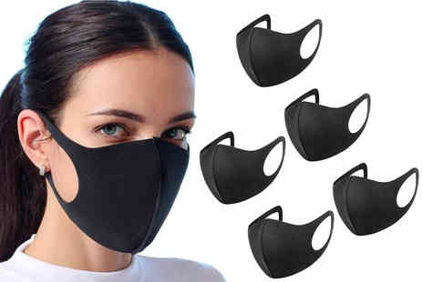 Dynergy - Set of black reusable face cover - Save 0%
