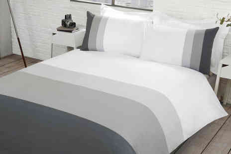 fiveminutesmore - Sleepdown colour block bedding set - Save 0%