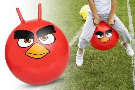 Gift and Gadget - Angry Birds space hopper - Save 0%