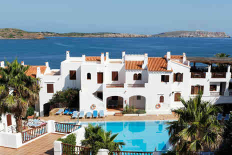 Weekender Breaks - Three nights self-catered Menorca self catered sea view apartment stay - Save 22%