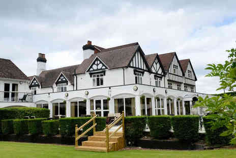 Buckatree Hall Hotel - One night Shropshire escape for two people - Save 17%