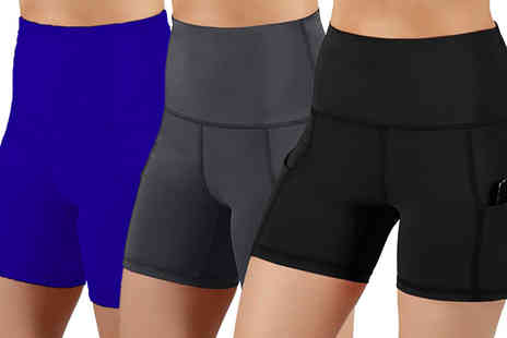 YelloGoods - Pair of womens pocket cycling shorts - Save 77%