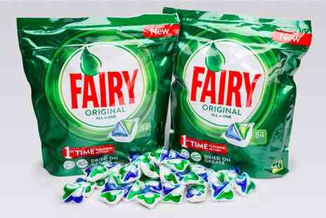Global Merchant Support - Pack of 84 Fairy Original All In One dishwasher tablets - Save 0%