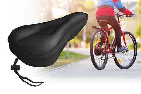 Wishwhooshoffers - Two pack of cushion gel bike pads - Save 74%