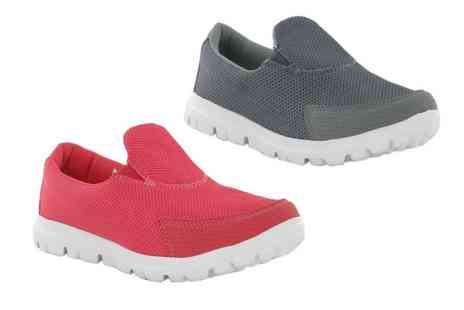 Shoe Fest - Pair of junior girls or adult womens trainers - Save 0%