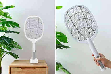 Buy Something - Rechargeable electric mosquito swatter - Save 74%