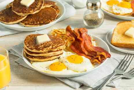 Browns Stateside Diner - American style brunch for two with a bottle of Prosecco - Save 42%