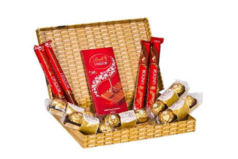 flowers delivery 4 u - Ferrero and Lindt chocolate letterbox hamper - Save 53%