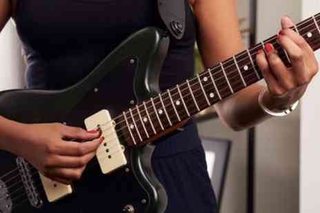 International Open Academy - Electric Guitar Fast Track Online Course - Save 91%