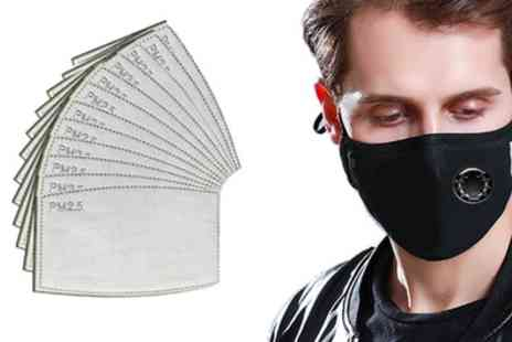 Groupon Goods Global GmbH - Reusable Mask with 12 Filters - Save 0%