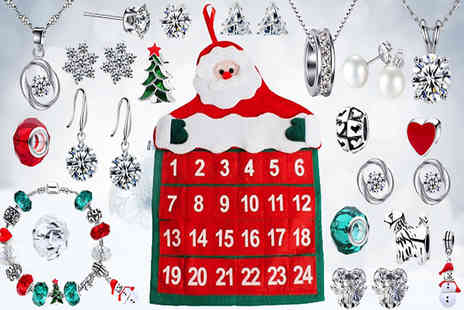 Your Ideal Gift - 24 Day jewellery advent calendar - Save 78%