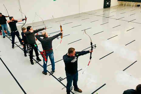 Indoor Archery - One hour indoor archery session - Save 50%