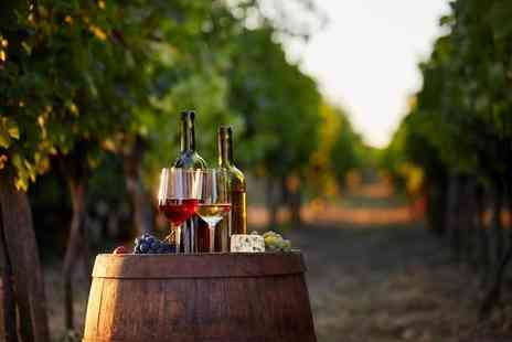 Old Walls Vineyard - Summer wine tasting tour for two people - Save 51%