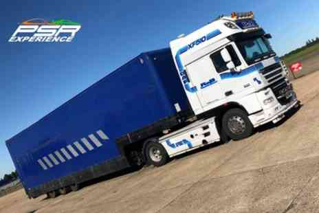 PSR Experience - Articulated Lorry Driving Experience - Save 20%