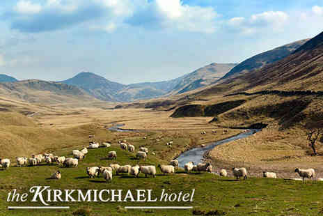 Kirkmichael Hotel - Overnight stay for two with a welcome drink on arrival, breakfast - Save 49%