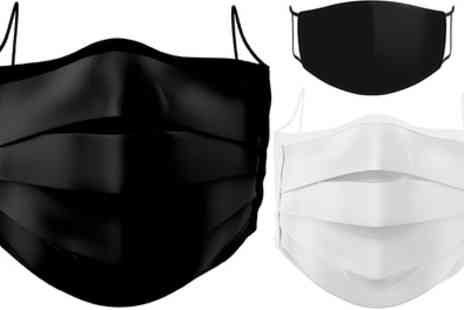 Groupon Goods Global GmbH - Up to 20 Reusable Cotton Face Masks - Save 0%