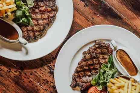 Saint Judes - Sirloin or Rib Eye Steak Meal for Two or Four - Save 60%