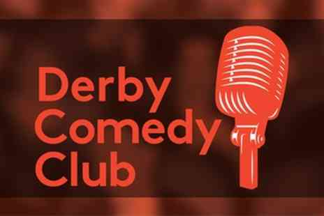 The Derby Conference Centre - Saturday Night DC Comedy Club Tickets for Two - Save 40%