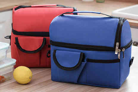 YelloGoods - Insulated cooling bag in red, dark blue, orange, rose red, wine red, light blue - Save 0%