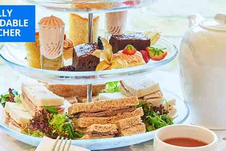 Wrightington Country Club Hotel - Sparkling afternoon tea or lunch for 2 - Save 31%