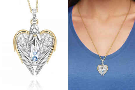 PinkPree - Heart angel necklace - Save 75%