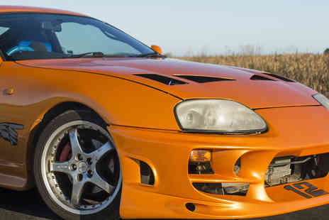 Drift Limits - 14 lap Fast & Furious Toyota Supra driving experience - Save 50%