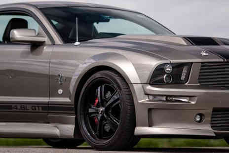 Drift Limits - 14 lap Eleanor Shelby GT500 Mustang driving experience - Save 50%