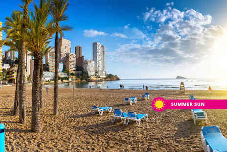 Super Escapes Travel - Two nights all inclusive Benidorm holiday with return flights - Save 0%