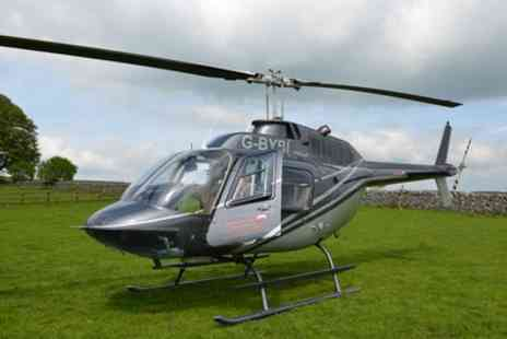Adventure 001 - Glimpse of London Helicopter Tour with Lunch for One or Two - Save 27%