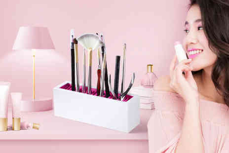 hey4beauty - Beauty and makeup brush holder - Save 0%