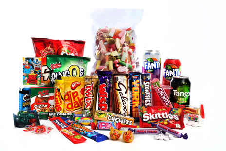 Lilys British Candy Shop - Small sweets gift hamper - Save 0%