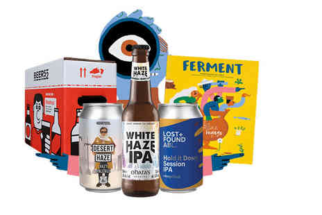 Beer52 - One month craft beer subscription with eight beers - Save 58%