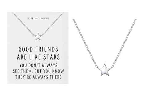 Philip Jones - Sterling silver friendship necklace - Save 0%