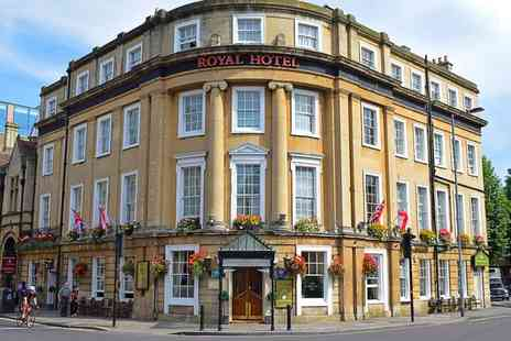 The Royal Hotel - Overnight stay for two with breakfast - Save 28%