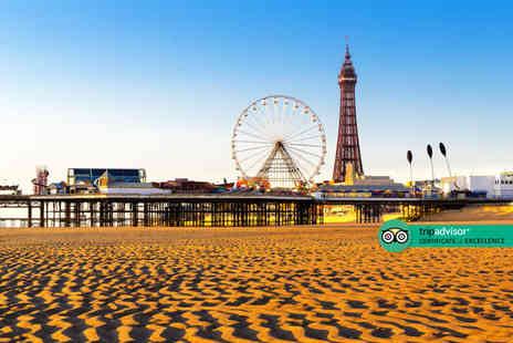 Derwent Hotel - Two nights Blackpool hotel stay for two or three people with breakfast - Save 51%