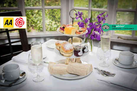 The Mere Court Hotel - Traditional afternoon tea for two people - Save 37%