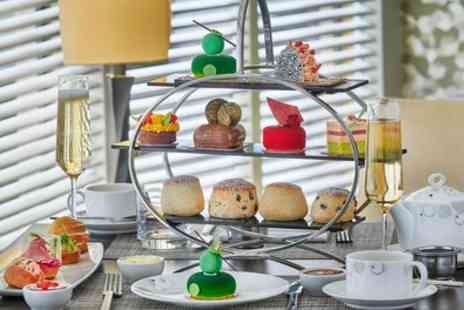 Podium Restaurant and Bar - Afternoon Tea with Optional Champagne for Two - Save 37%