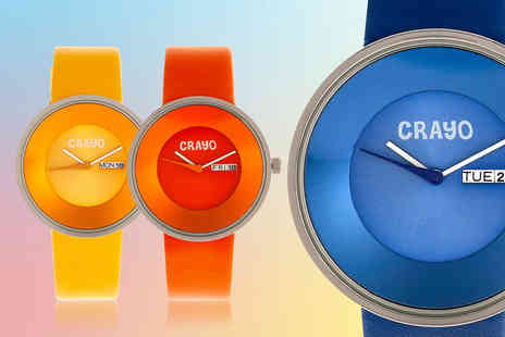 Heritor - Button Collection unisex watch - Save 71%