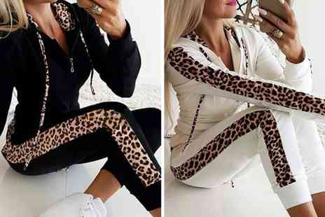 YelloGoods - Two piece leopard tracksuit - Save 60%
