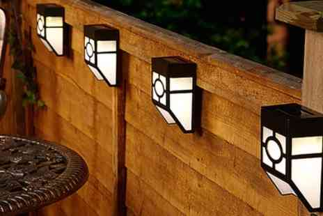 Groupon Goods Global GmbH - 12 Pack of Solar Fence Lights - Save 65%