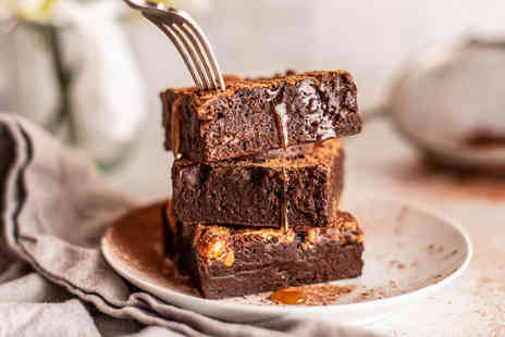 Bertos Brownies - Salted caramel topping sauce - Save 33%