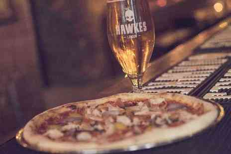BrewDog - Pizzas and pints of cider for two people - Save 44%